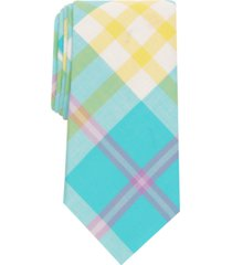 club room men's brecon slim plaid tie, created for macy's