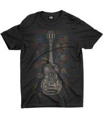 camiseta anime guitar - unissex
