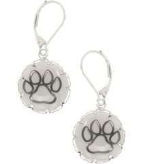 pet friends jewelry paw drop earring