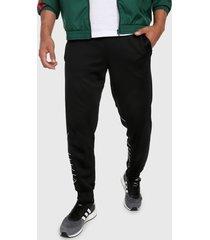 pantalón negro-blanco adidas originals trifolio