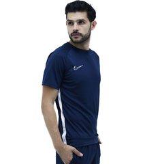 camiseta azul nike academy