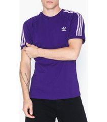 adidas originals blc 3-s tee t-shirts & linnen purple