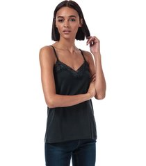 womens filli lace trim cami top