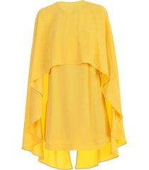 dress pencil detachable cape