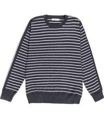 suéter cuello redondo en algodón regular fit para hombre 02081
