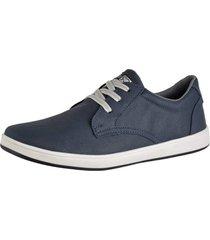 sapatênis sapato casual cr shoes com cadarço 1510m azul.