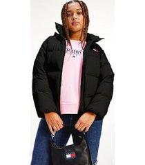 tommy hilfiger curve recycled classic puffer jacket black - xxxl