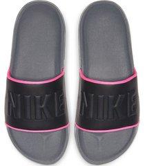 8-sandalias de dama nike wmns nike offcourt slide-gris