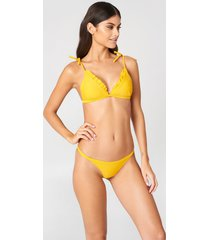 j&k swim x na-kd bikini panty - yellow