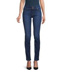 hudson women's mid-rise skinny jeans - flynn - size 25 (2)