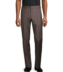 pleated wool dress pants