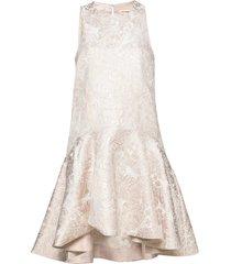 henrica jurk knielengte crème custommade