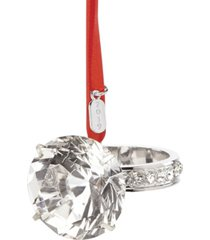 closeout! lenox 2019 engagement ring ornament