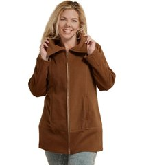 saco camel lecol talles reales patricia plus size
