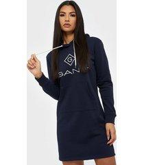 gant d1. gant lock up hoodie dress loose fit dresses