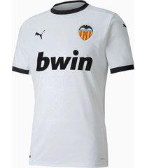 camiseta blanca puma valencia cf titular 20/21