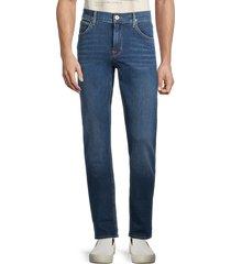 hudson men's byron slim straight jeans - blue - size 36