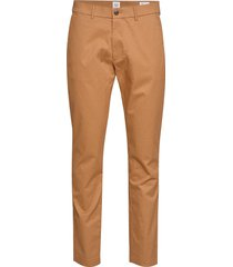 modern khakis in slim fit with gapflex chinos byxor brun gap