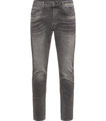 3301 slim slimmade jeans svart g-star raw