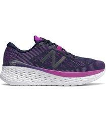 tenis running para mujer new balance more - violeta