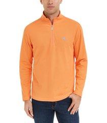 tommy bahama men's emfielder 2.0 classic-fit moisture-wicking 1/2-zip sweatshirt