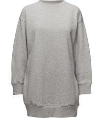 gigi hadid sweatshirt dress ls sweat-shirt trui grijs tommy hilfiger