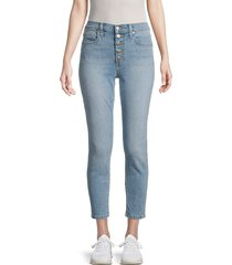 joe's jeans women's high-rise skinny ankle jeans - surrey - size 28 (4-6)