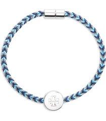women's tory burch kira braided charm bracelet