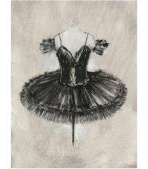 "ethan harper black ballet dress ii canvas art - 36.5"" x 48"""