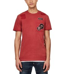 g-star raw men's patch pocket t-shirt, created for macy's
