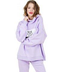 bluza lilac