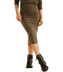 guess kaia sweater midi skirt