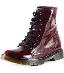 botas  rojo m&m 3110v