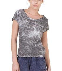 camiseta slim brohood mix feminina
