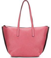 brunello cucinelli women's gum leather tote - pink