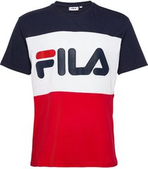 day tee t-shirts short-sleeved multi/mönstrad fila