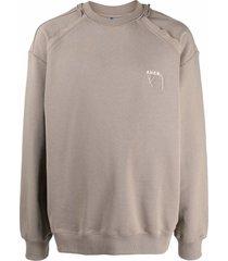 ader error logo crew-neck sweatshirt
