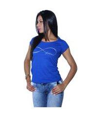 camiseta heide ribeiro forever azul royal