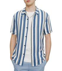 eleven paris men's striped shirt