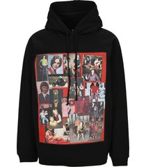 raf simons oversized hoodie with pictures