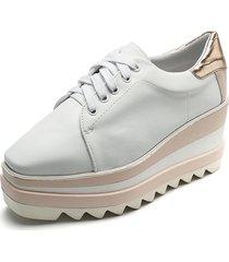 tenis de moda zapatos casuales megaplataformas anuwa oxford
