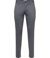 pantalones tipo jogger a cuadros mark