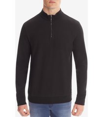 boss men's troyer cotton sweatshirt