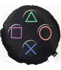 almofada geek gamer personalizada joystick ps3.