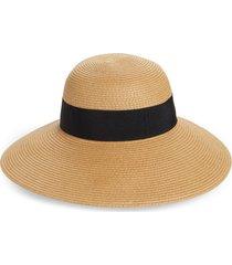 women's nordstrom floppy hat - brown