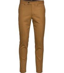 grant-frame kostuumbroek formele broek bruin j. lindeberg