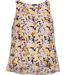 blouse daria sleeveless blus ärmlös multi/mönstrad lindex