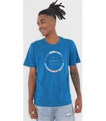 camiseta rip curl commander azul - azul - masculino - dafiti