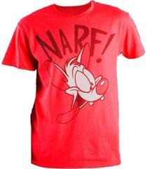 camisa ds-12030 narf rojo