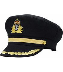 cappello nero del cappotto del marinaio del nipote di notte di stag